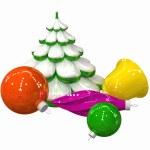 Christmas-tree decoration #3 — Zdjęcie stockowe