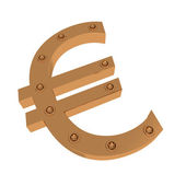 Mark of euro #1 — Stock Photo