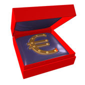 Mark of euro #2 — Stock Photo