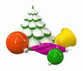 Christmas-tree decoration #3 — Stock Photo