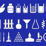Laboratory equipment — Stock Vector