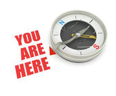 You are here! #2 — Stock Photo