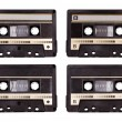 Audio cassette - Stock Photo