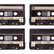 Audio cassette — Stockfoto