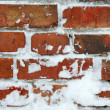 Stock Photo: Frozen wall