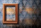 Prázdný rám na zeď — Stock fotografie