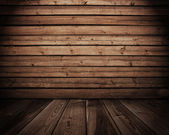 Dřevěný interiér — Stock fotografie