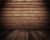 Interior em madeira — Foto Stock