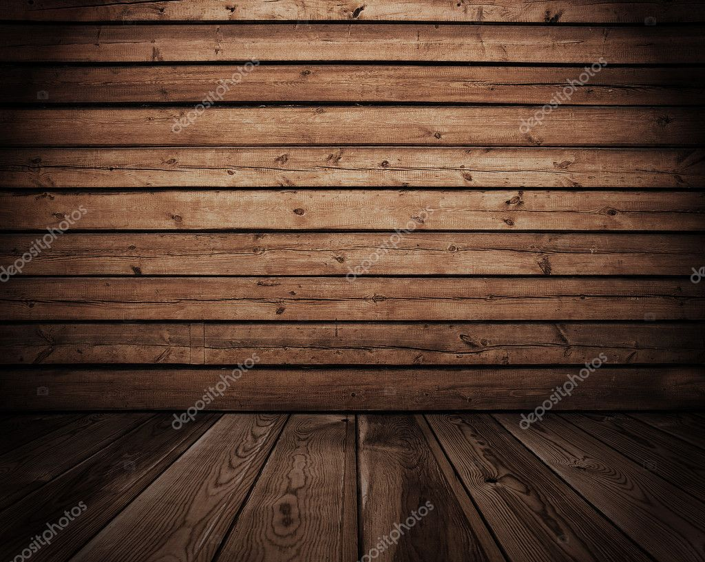 Old wooden interior  Stock Photo #1218245