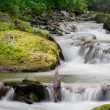 Small waterfall — Stock Photo