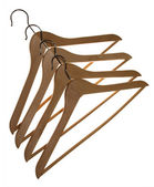 Several clothes hangers — Stock Photo