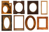 Different vintage frames — Stock Photo