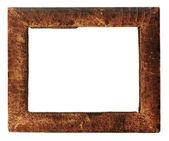 Skórzanych ramki — Zdjęcie stockowe