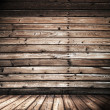 Stock Photo: Wooden interior