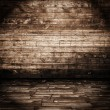Wooden room - Foto Stock