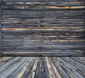 Wooden interior — 图库照片
