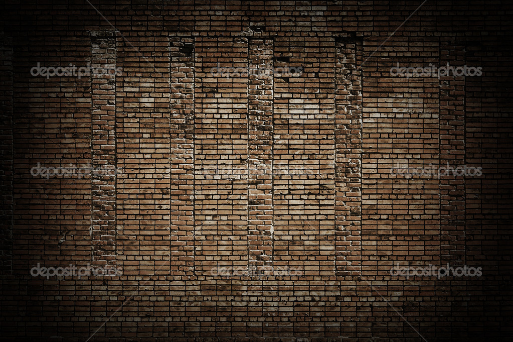 Old brick wall — Stock Photo #2044356