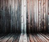 Houten interieur — Stockfoto
