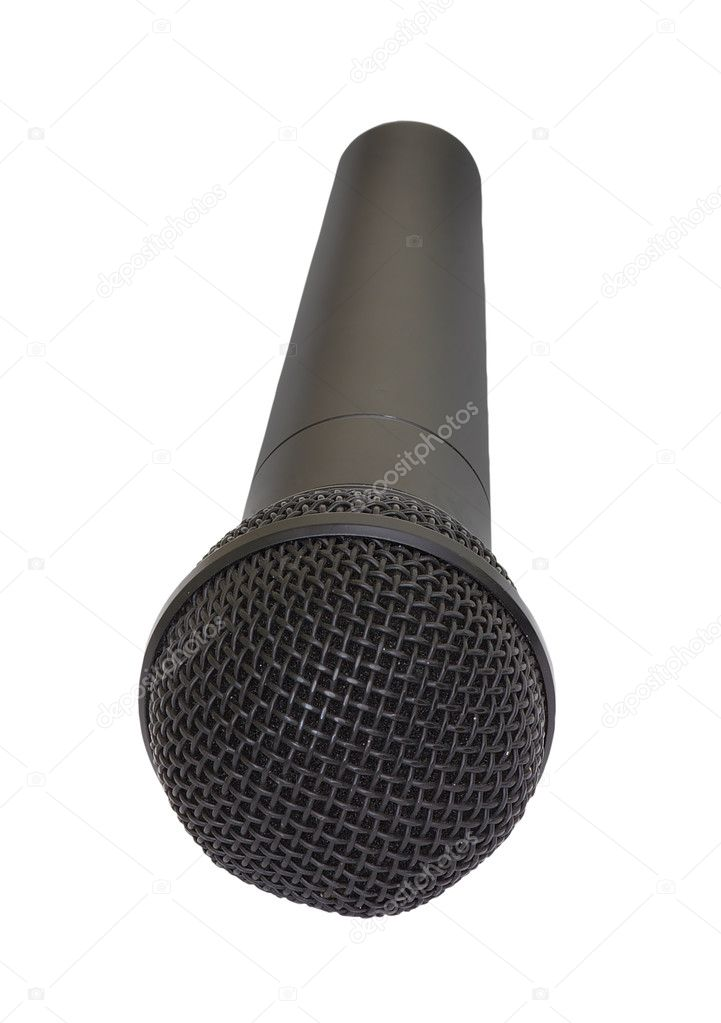 Microphone isolated on white background  Stock Photo #2178530