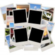 Royalty-Free Stock Photo: Stack of photo shots