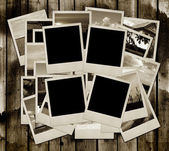 Stack of photo shots — Stock Photo