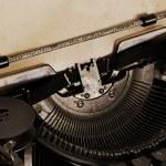 Old typewriter — Stock Photo #2296909