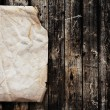 Paper on old wood texture — Stock Photo #2413919