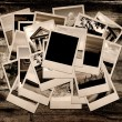 Stock Photo: Stack of photo shots