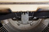 Gammal skrivmaskin — Stockfoto