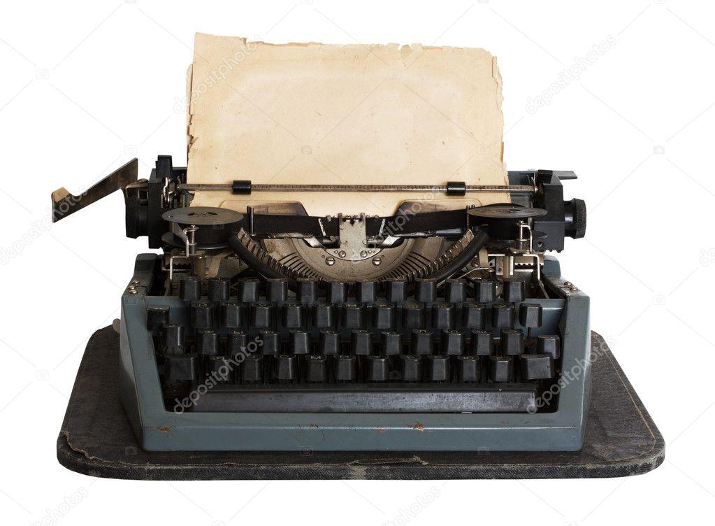 Vintage typewriter wit... Vintage Typewriter Paper Photography