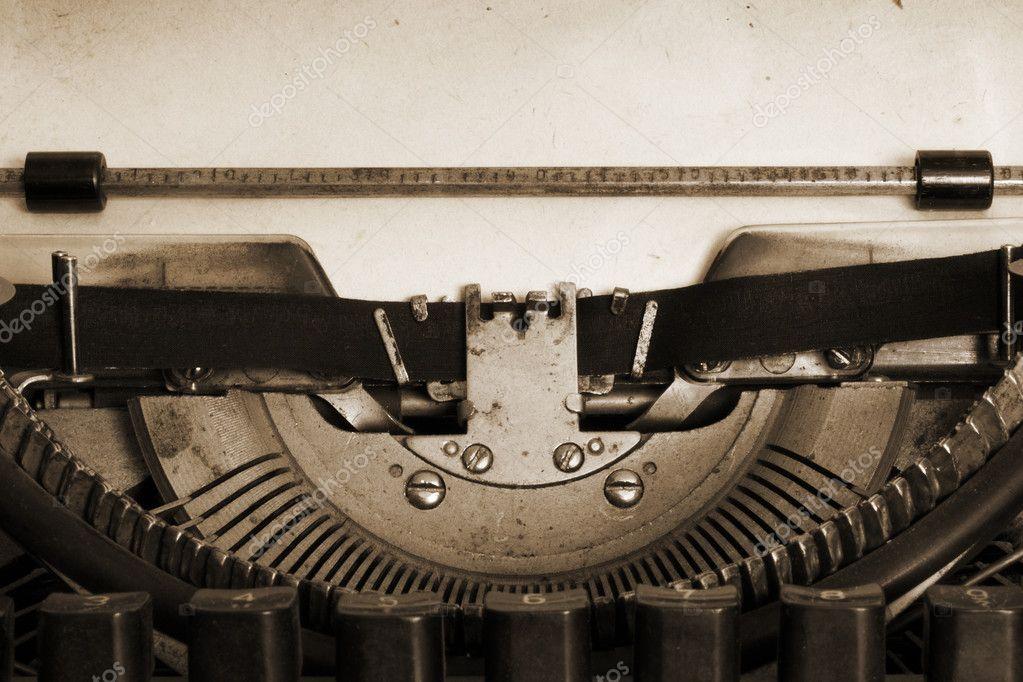 Vintage typewriter —... Vintage Typewriter Paper Photography