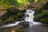 Small waterfall on Altai — Stock Photo