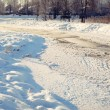 Frozen river — Stock Photo #1335537