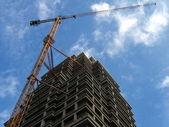 High building crane — Stock Photo