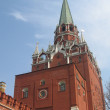 Moscow Kremlin with red wall — Stock Photo
