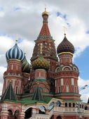 Moscow temple at Red Square — Stock Photo