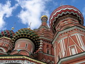 Moscow temple by Vasil — Stock Photo