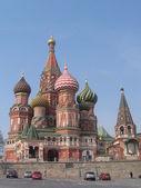 ヴァシーリーはモスクワの寺 — ストック写真
