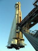 Prosta rakieta — Zdjęcie stockowe