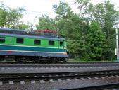 Fast locomotive — Stock Photo