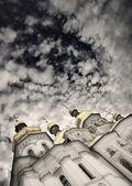 Uspensky cathedral, Kievo-Pecherskaja of the Laurels, relic of orthodox belief — Stock Photo