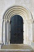 Church doors — Stock Photo