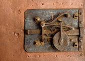 Old door-lock — Stock Photo
