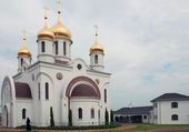 Russian church in Africa — Stock Photo