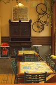 Interior of a cafe — Stock Photo