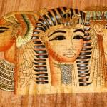 The Egyptian papyrus — Stock Photo
