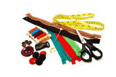 Accessory Kit for sewing — Stock Photo