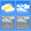 Weather forecast - Stok fotoğraf