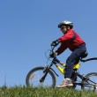 Boy on bicycle — Stock Photo #1142407