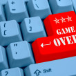 Stock Photo: Game Over